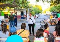 Vecinos da la Francisco Villa solicitan a Yolanda Llamas espacios de esparcimiento