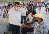 Reciben con entusiasmo a Carlos Carrasco en Las Conchas