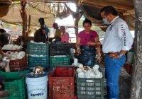 Gestión para respaldar al sector campesino, turístico y comercial promete Chamuco Anguiano