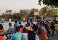 Familias de la Curva de Moreno respaldan al proyecto verde en Tecomán