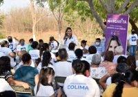 Margarita Moreno recibe total respaldo en Miradores de la Cumbre