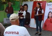 Implementaremos acciones para la prevención de el delito: Diana Zepeda Figueroa