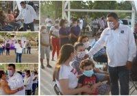 Manifiestan en San Gabriel, 26 de julio y Chamila apoyo total para Carlos Carrasco