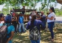 Vicky Ledesma se reúne esta tarde con jornaleros del papayo