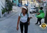 Continúa Lulú Torres su recorrido por el distrito 13 de Manzanillo