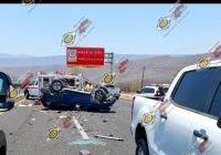 Fallece Esteban Meneses en accidente carretero; Silvia Guardado está grave