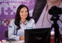 En debate, Mely Romero no rehuyó responder preguntas de ciudadanos