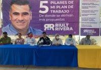 Riult Rivera presenta sus 5 pilares de plan de trabajo