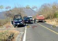 Localizan un hombre ejecutado junto a la carretera VdA- Minatitlán