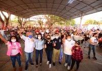 La colonia Torres Quintero cerró filas con Margarita Moreno