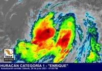 Huracán #Enrique continúa fortaleciéndose; comenzará a acercarse sobre la costa de Jalisco y Colima.