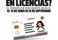 Darán 50% descuento en renovación de licencias de conducir: Seplafin