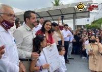 Este es el triunfo del pueblo de Colima: Indira Vizcaíno, al recibir constancia de mayoría de votos por la gubernatura