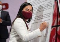 Libertad para disentir, se suma a los principios de la 4T: indira vizcaíno
