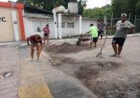 El grupo de jóvenes CAD y regidora Lesly Virgen realice campaña de limpieza en la localidad de las conchas