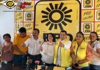 Acepta PRD triunfo de Indira Vizcaíno, dirigencia confirma haberse quedado sin registro estatal