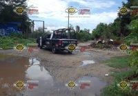 Localizan un ejecutado en una brecha de Lomas de Santiago, en Manzanillo