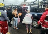 Fuerzas de seguridad estatales capturan a sujetos con armas de fuego