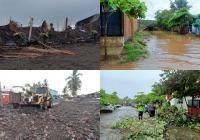 Paraíso el más afectado ante el paso del huracán Enrique