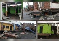 "34 enramadas afectadas, saldo hasta el momento del huracán ""Enrique"" en playas de Tecomán"