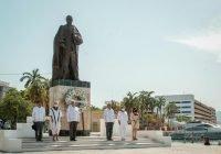Presidente rinde homenaje a Benito Juárez García en 149 Aniversario Luctuoso