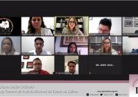 Presenta IEE Colima informes del monitoreo de radio y televisión sobre campañas y del Comité de Debates