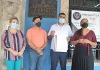 Recibe el presidente municipal de Cuauhtémoc, bando solemne que remite el H. Congreso del Estado, comunicando que Indira Vizcaíno Silva es gobernadora electa