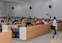Personal del campus Tecomán se capacita en prevención de COVID-19