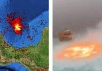 'Fuego en el mar': el mundo anda hablando de México… y no de una buena forma