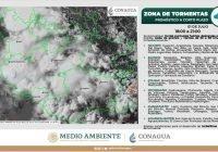 Esta noche lloverá en los estado de Colima, Jalisco y Michoacán