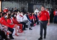 Pide Alejandro Moreno, unidad, solidez y fortaleza ideológica a la militancia del PRI
