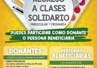 """Invita DIF Municipal Tecomán a participar en la """"Campaña Regreso a Clases Solidario"""""""