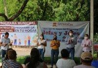 Se entrega apoyo de dos programas sociales a familias de La Presa, las Trancas y Lázaro Cárdenas