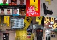 En cateos 7 detenidos más por delitos contra la salud en Colima, Minatitlán y Tecomán