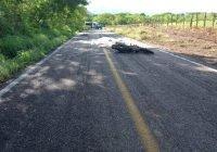 Mueren dos motociclistas en Aquila en la carretera costera