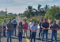 Entregan obra de rehabilitación de carretera Cuyutlán – Tortugario