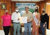 Confirma alcalde Elías Lozano participación de Tecomán en la Feria de todos Los Santos Colima 2021