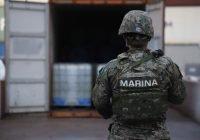 SEMAR, FGR y Aduana Manzanillo inactivan más de 49 mil 844 kilogramos de  Cloruro de Bencilo asegurado en el recinto portuario de Manzanillo