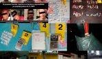 En Cateos, ocho detenidos y más de 70 dosis de droga