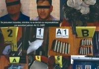 En cateo Se asegura gran cantidad de droga y arma; hay dos detenidos