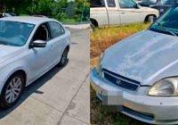 Se recuperan vehículos Honda y Volkswagen