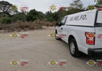 Localizan dos cadáveres calcinados dentro de una camioneta en El Chavarin, Manzanillo