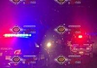 Tráiler impacta a automóvil cerca de la caseta de Cuyutlán; solo hay daños materiales