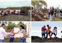El H. Ayuntamiento de Tecomán y Cooperativa Pesquera del Chupadero, encabeza jornada de limpieza