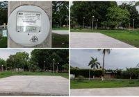 En Tecomán, atiende comuna rezago en iluminación del Parque de Villas del Rey