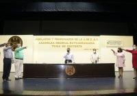 Rector toma protesta a nuevo comité  de Jubilados y Pensionados de la UdeC
