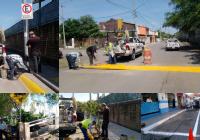 Comuna tecomense trabaja de manera continúa, en acciones de mejoramiento a la circulación vial