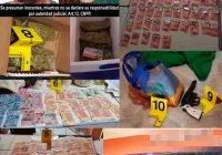 Se aseguran más de 150 envoltorios de metanfetamina y mariguana; hay dos detenidos