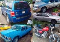 Fiscalía del estado de Colima localiza cinco vehículos robados