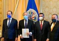 """Va por México"""" defiende democracia mexicana, ante la OEA: Alejandro Moreno"""